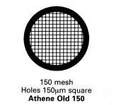 G201G Athene grid, Old 150, 150 mesh, pozlacené, 100 ks/bal