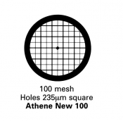 G205N  Athene New 100, Thick bar/Thin bar, 100 mesh, Ni, 100 ks/balení