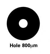 G225-5 Athene hole grids, Cu, 100 ks/bal