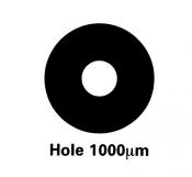 G225-6 Athene hole grids, Cu, 100 ks/bal