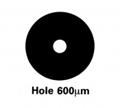 G225N4 Athene hole grids, Ni, 100 ks/bal