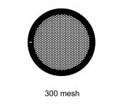 G2430PD Agar Hexagonal 300 mesh grids, Cu, jedna strana kryta paládiem, 100 ks/bal