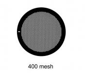 G2440PD Agar Hexagonal 400 mesh grids, Cu, jedna strana kryta paládiem, 100 ks/bal
