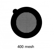 G2730C Square thin bar 400 mesh grids, Cu, 100 ks/bal