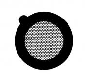 G2740C Hexagonal 300 mesh thin bar  grids, Cu, 100 ks/bal