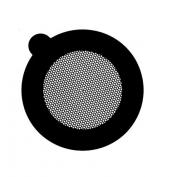 G2750C Hexagonal 400 mesh thin bar  grids, Cu, 100 ks/bal