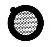 G2710A Hexagonal 200 mesh thin bar  grids, Au, 50 ks/bal