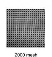 G2786N 2000 mesh thin bar  grids, Ni, 10 ks/bal