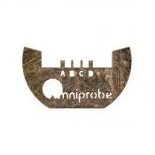 J424 Omniprobe®  4 post  lift-out grid, Mo, 25 ks/bal