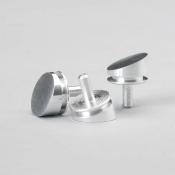 G3020 Pin stub, zkosení 20°, Al, 12,5mm dia, 5 ks/bal