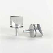 G3020A Pin stub, zkosení 45° na polovině profilu, Al, 12,5mm dia, 10 ks/bal