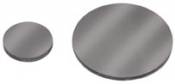 16500-P Graphite discs, one side mirror polished, 12,7 mm dia, t=1,4 - 1,5 mm, 1 ks/bal