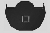 NF0101B-25  Omniprobe® Silicon-Lift-Out-Grid, wide post, 25 ks/bal