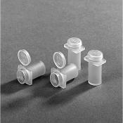 G3759  Flat ended capsules, polypropylen , 500 ks