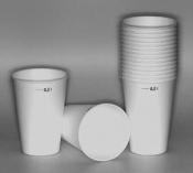LPV2010 Hard paper cups, 100 ks/bal
