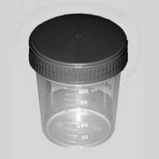 G332A Graduated cup with cover, 100 ks/bal