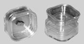 G3319-55 Storage box with membrane, 55 x 55 x 25 mm, 10 ks/bal