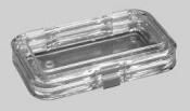 G3455 Storage box with membrane, 125 x 75 x 25 mm