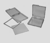 G4000 Gel-Pak® Slides, X4, 50 ks/bal