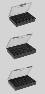 G3871  Polypropylene Sorting Box with Lid