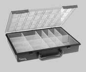 G3877A Polypropylene Sorting Box with Lid and Handle
