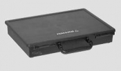 G3877ESD Sorting Box with Lid and Handle, black