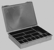 G3873AESD ESD-Sorting Box with Lid, black