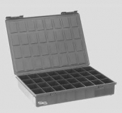 G3874AESD ESD-Sorting Box with Lid, black