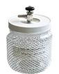 Vacu-Storr high vacuum glass storage container, medium, 320ccm