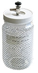 Vacu-Storr high vacuum glass storage container, large, 680ccm
