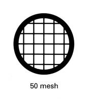G2460TI Square 50 mesh grids, Ti, 25 ks/bal
