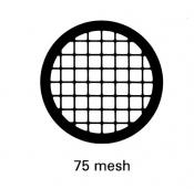 G2461TI Square 75 mesh grids, Ti, 25 ks/bal