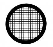 G2463AL Square 150 mesh grids, Al, 25 ks/bal