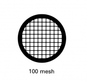 G2462MO Square 100 mesh grids, Mo, 25 ks/bal