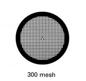 G2465TI Square 300 mesh grids, Ti, 25 ks/bal