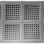 G249N 2000 mesh, Ni, 25x25mm
