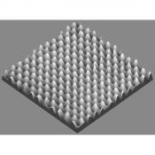 G3389D HOPG, mozaikovitý rozptyl 0,4° ± 0,1°, 10 x 10 x 1 mm