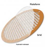 SP162-8 Pioloform on slot grid, 2x0,5 mm, Cu, 25 ks/bal
