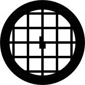 08L04901 Square 50 mesh grids, Al, 25 ks/bal