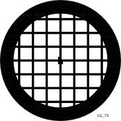 07D02902 Square 75 mesh grids, Au, 25 ks/bal