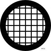 03D00700 Square 75 mesh grids, HR, Cu/Rh, 100 ks/bal