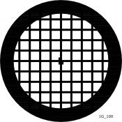 07D02903 Square 100 mesh grids, Au, 25 ks/bal