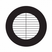 03D00804 Parallel bar grids with divider, rozteč 165 um, Cu, 100 ks/bal