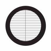 03D00806 Parallel bar grids with divider, rozteč 127 um, Ni, 100 ks/bal