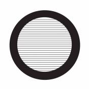 07D01914 Parallel bar grids with divider, rozteč 84 um, Ni, 100 ks/bal