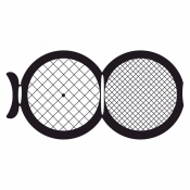 07D00929 Square 100/200 mesh folding grids , Cu, 100 ks/bal