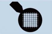 07D00937 Co-ordinate Grid with handle, 100 mesh, Cu, 100 ks/bal