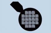 07D01939 Co-ordinate Grid with handle, 300 mesh, Ni, 100 ks/bal