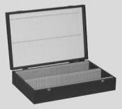 L4120AG Slide Storage Box for 52mm x 76mm slides