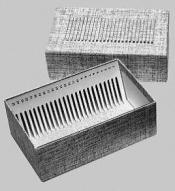21081Economy Slide Box for 25 slides, Large, 38x76mm or 50x76mm slides